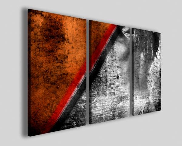 Quadri astratti Inche woman stampe moderne canvas