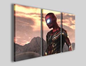Quadri per bambini Iron spider stampe su tela canvas