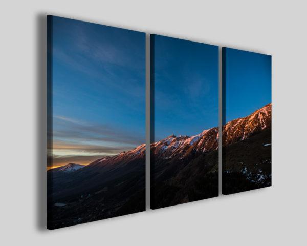 Quadri paesaggi italiani Le pendici del Gran Sasso IV stampe