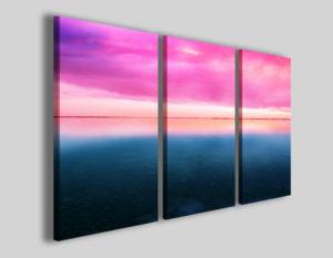 Quadro tramonto Lineclod stampe paesaggi