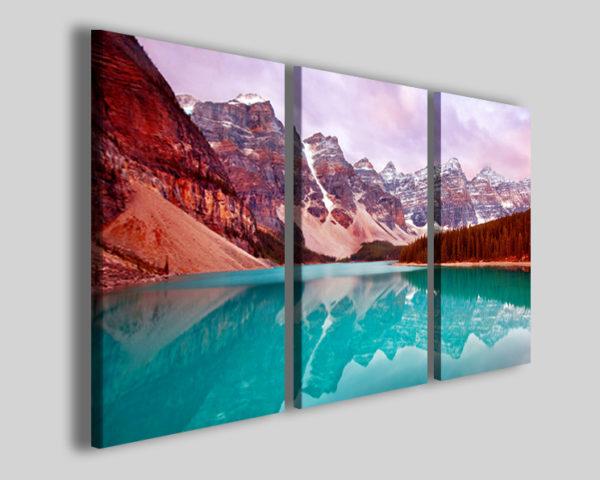 Quadri paesaggi Mountain liking stampe su tela
