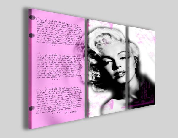 Quadri Marilyn Monroe History stampe attori famosi