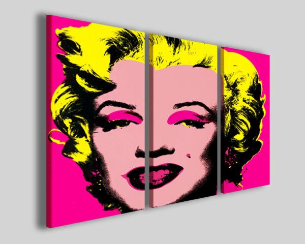 Quadro Marilyn Monroe I pop art stampa su tela