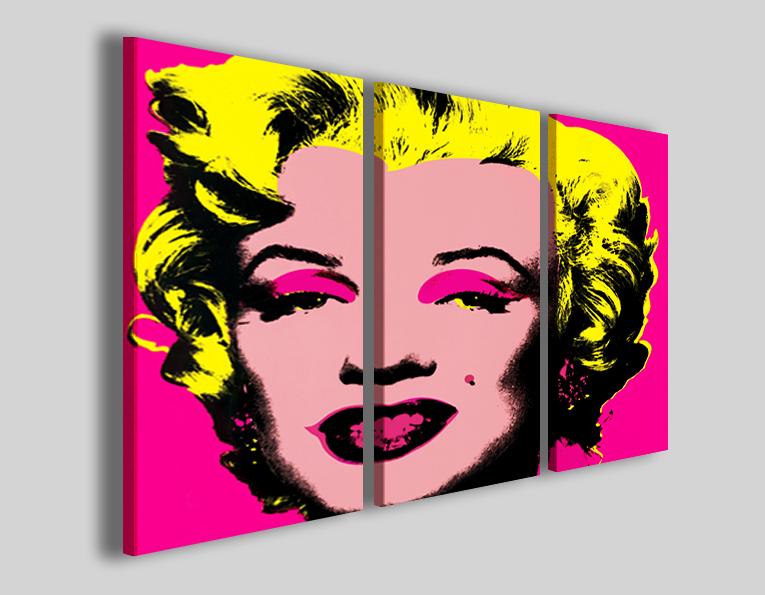 Quadro Marilyn Monroe I pop art stampa su tela - 30ArtGallery