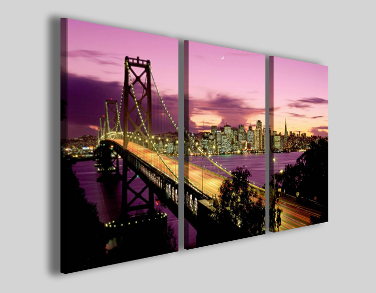 Quadri città New York bridge VI stampe su tela