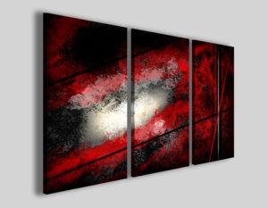 Quadri astratti Ozone abstract stampe moderne