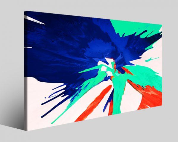 Quadro astratto Paintpro stampa su tela