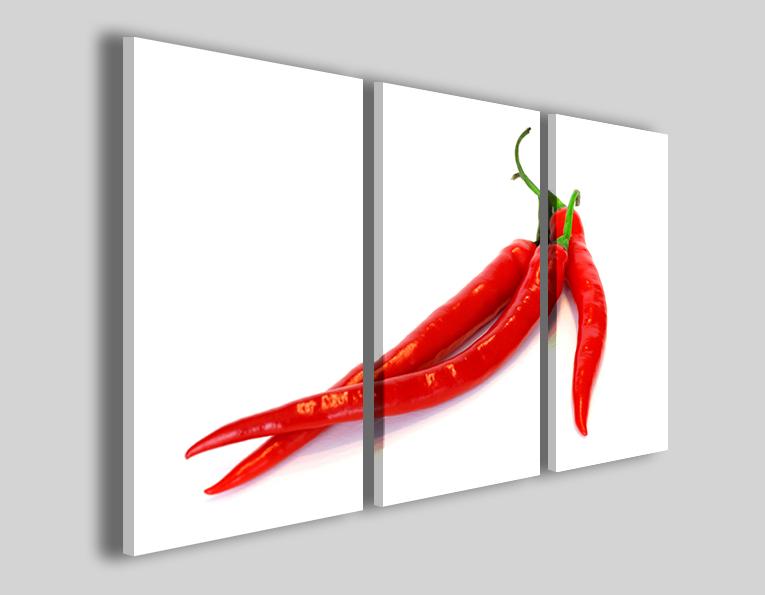 Quadri moderni Peperoncino stampe chilli hot piccante