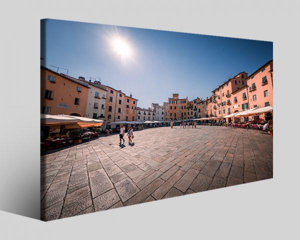 Quadro piazza dell'Anfiteatro Lucca