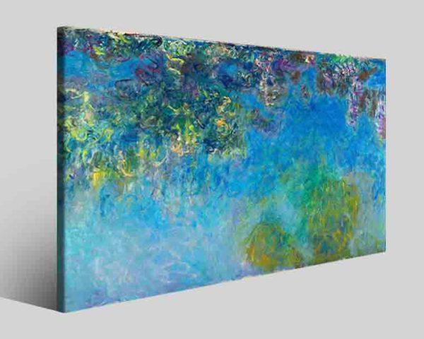 Quadri famosi Claude Monet art XII stampe famose su tela