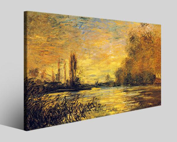 Quadri Claude Monet art XVII stampe famose su tela