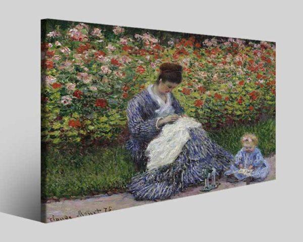 Quadri famosi Claude Monet art II stampe famose su tela