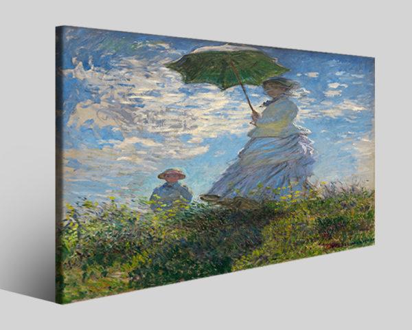 Quadri famosi Claude Monet art IV stampe famose su tela