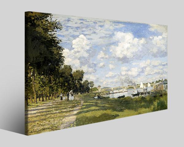 Quadri famosi Claude Monet art VI stampe famose su tela
