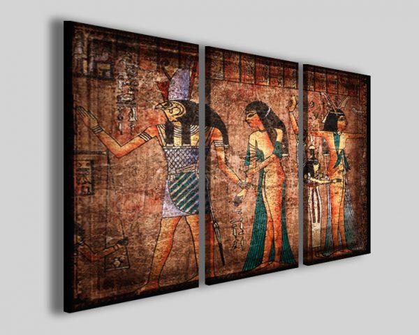 Quadri Egitto Papyrus stampe antichi papiri