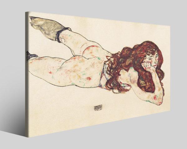 Quadri Egon Schiele art I stampe famose su tela