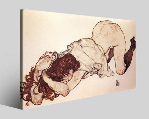 Quadri Egon Schiele art II stampe famose su tela