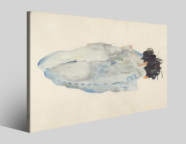 Quadri Egon Schiele XXV stampa su tela riproduzione