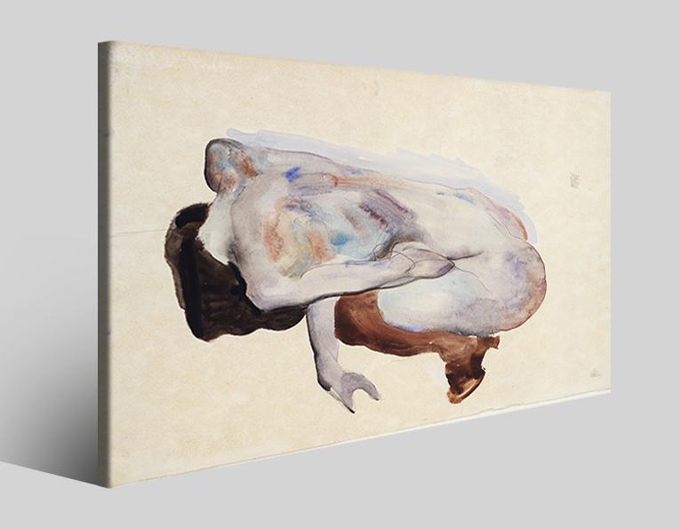 Quadri Egon Schiele XXVII stampa su tela riproduzione