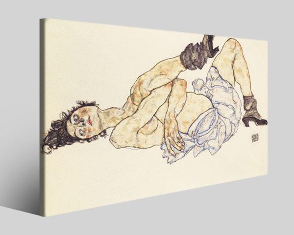 Quadri Egon Schiele art III stampe famose su tela