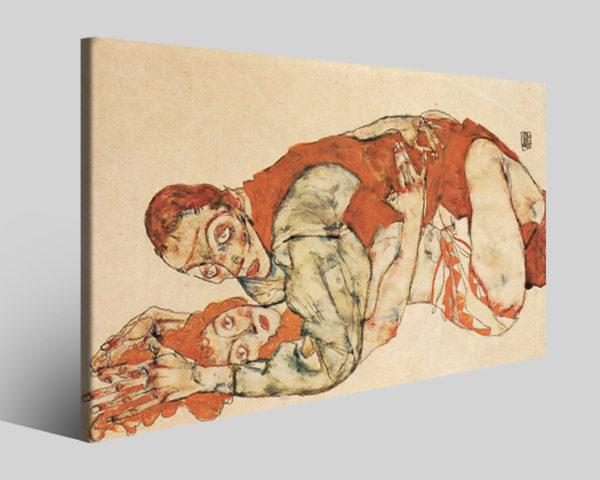 Quadri Egon Schiele art IV stampe famose su tela