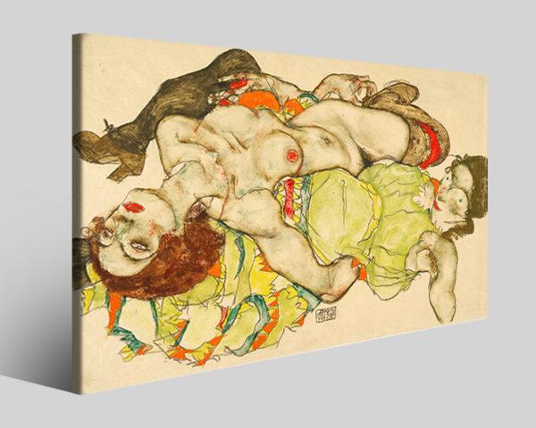 Quadri Egon Schiele art V stampe famose su tela