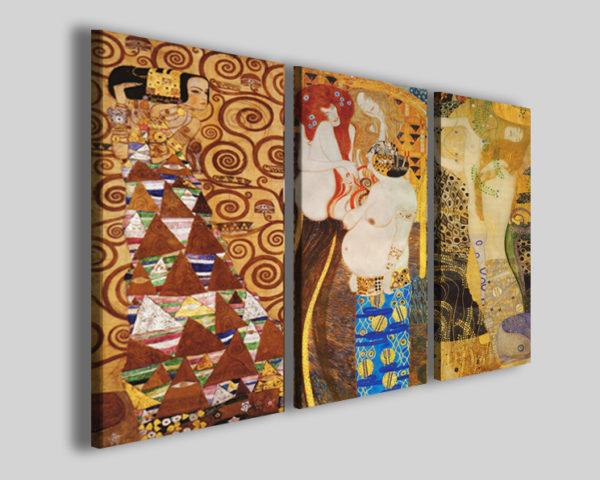 Quadri Gustav Klimt IV L'albero, Fregio, Danae