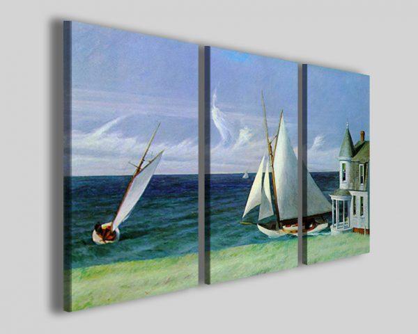 Quadri Hopper Edward La costa di lee stampe su tela
