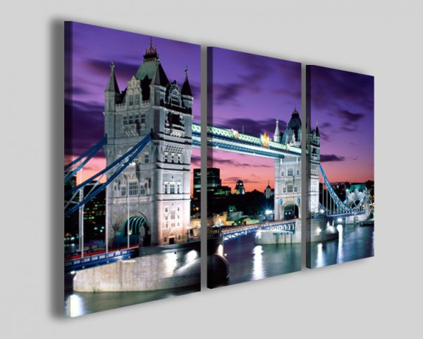 Quadri Londra London tower bridge stampa ponte
