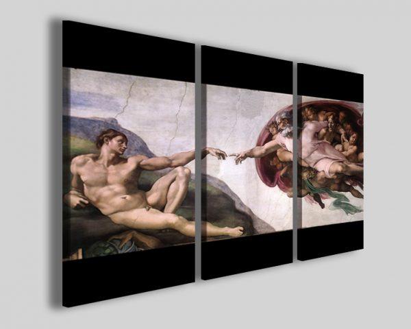 Quadri Michelangelo La creazione di adamo stampe