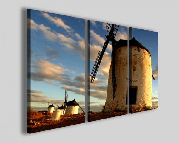 Quadri Moulins Espana stampe su tela Spagna mulini