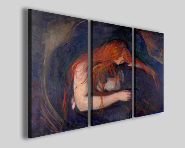 Quadri Munch Edvard Il vampiro copie famose