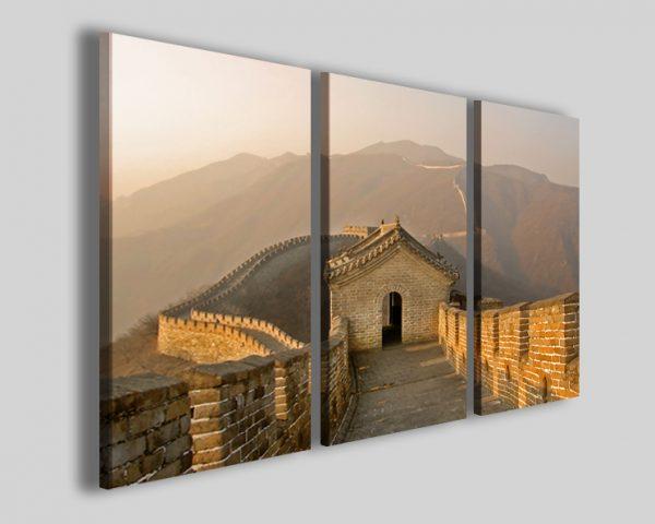 Quadri Muraglia cinese II stame su tela