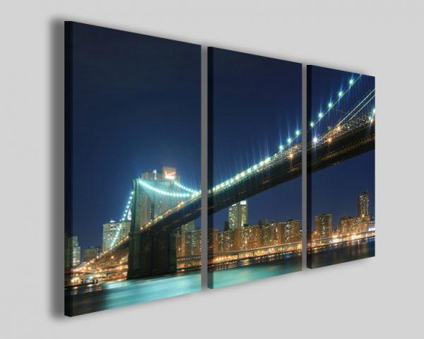Quadri New york bridge I stampe su tela città