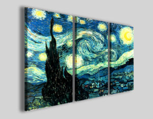 Quadri Van gogh notte stellata stampe riproduzioni