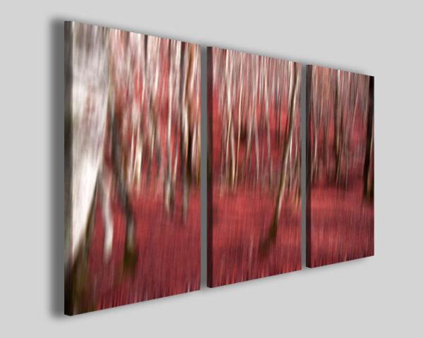 Quadri astratti Alberi nel bosco stampe moderne