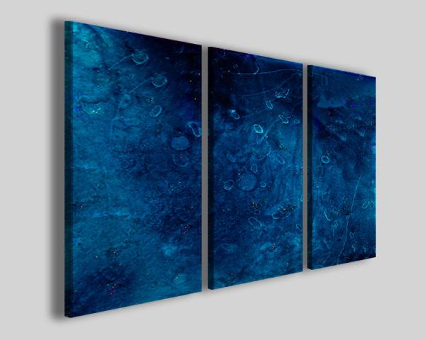 Quadri astratti Bluflake decorazione di interni