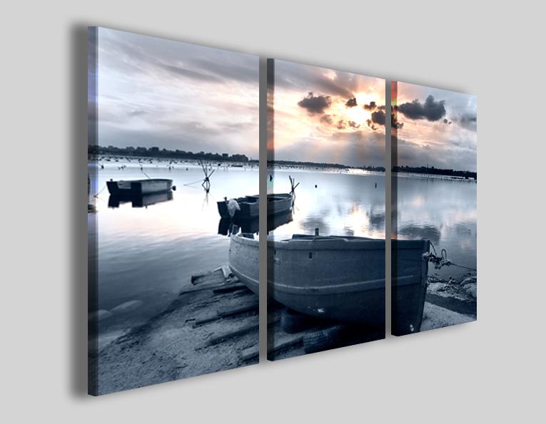 Quadri con barche Old boat stampe su tela