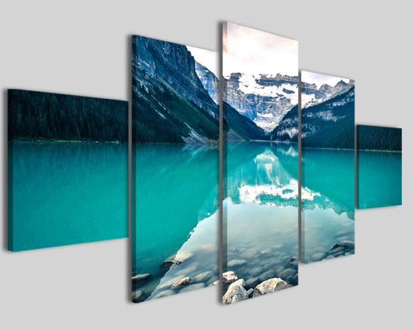 Quadri e stampe Canada lake grande formato