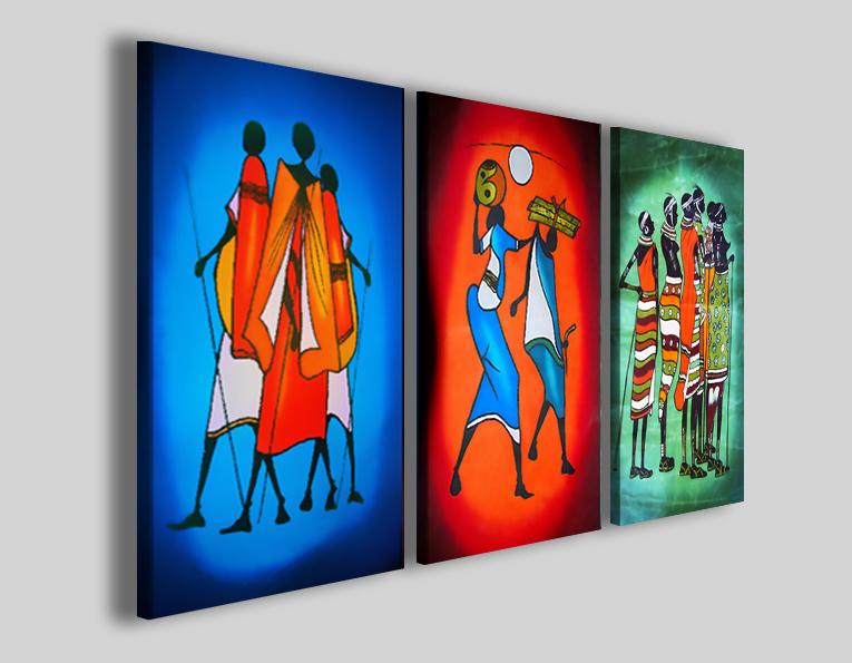 Quadri etnici Tradizioni africane arredamento etnico