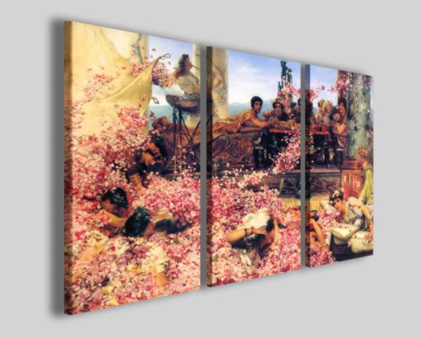Quadri famosi Alma Tadema le rose di eliogabalo