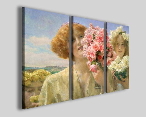 Quadri famosi Alma Tadema offerta di primavera stampe famose