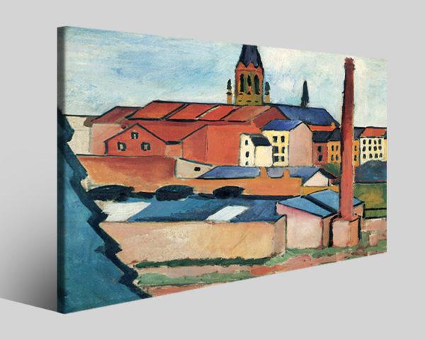 Quadri famosi August Macke art XV riproduzioni su tela