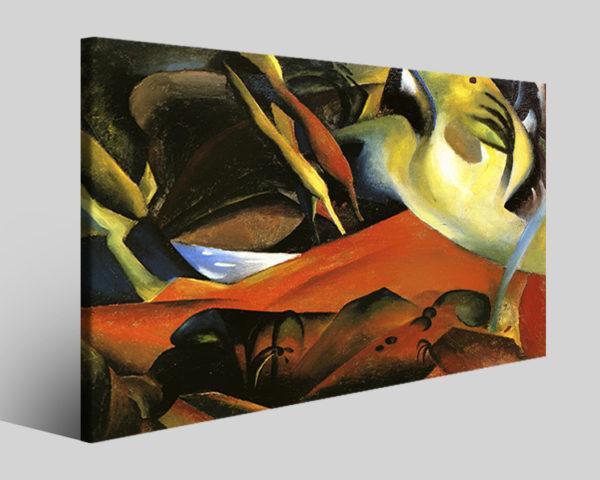 Quadri famosi August Macke art XVIII riproduzioni su tela