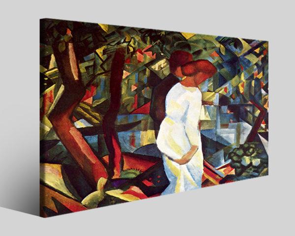 Quadri famosi August Macke art XX riproduzioni su tela