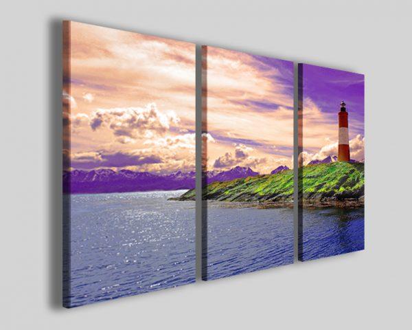 Quadri faro Lighting stampe canvas paesaggio