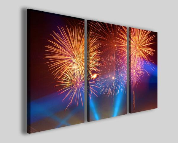 Quadri moderni Fireworks stampe su tela