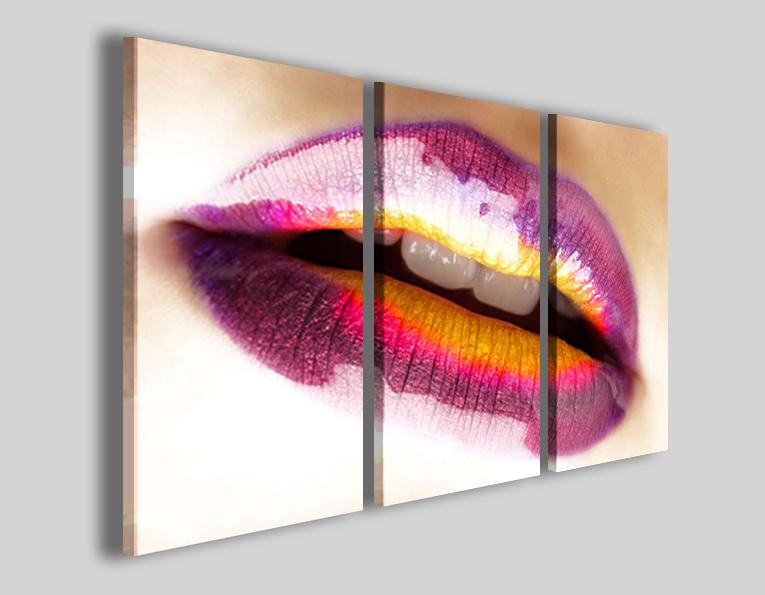 Quadri moderni Good lips arredamento centro estetico