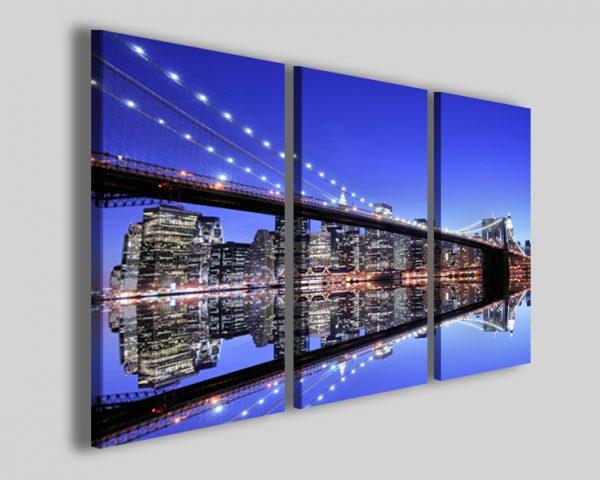 Quadri moderni New York bridge IV