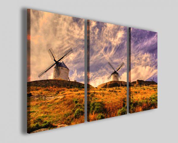 Quadri mulini a vento Mills stampa paesaggio
